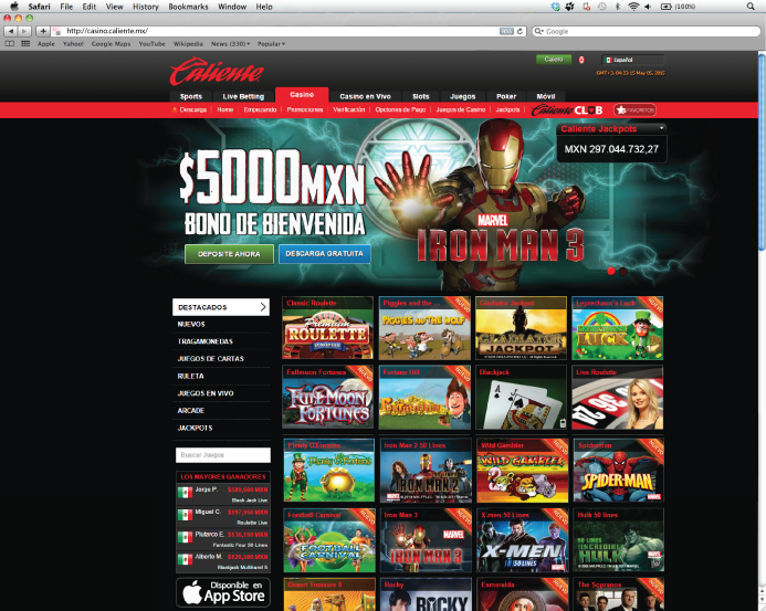 Caliente online betting the top sports betting sites