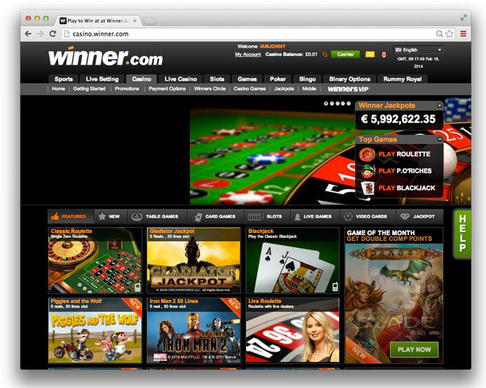 winner casino affiliates
